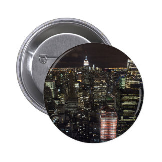 night in nyc pinback buttons