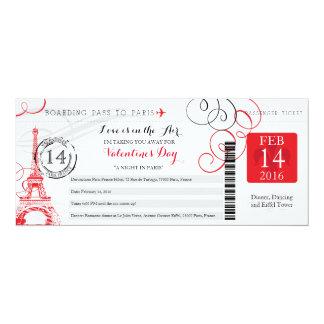 Night in Paris | Valentines Day Trip Card