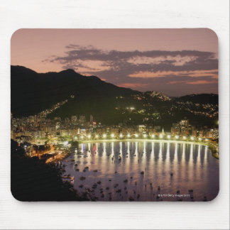 Night in Rio de Janeiro, Brazil Mouse Mat
