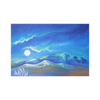 Night in the Desert Print