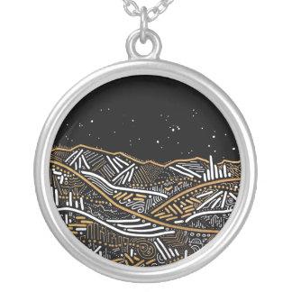 Night Landscape Necklace