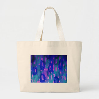 NIGHT LIFE Bold Neon Abstract Watercolor Painting Bags