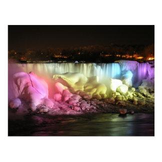 Night Lights American Falls Post Cards