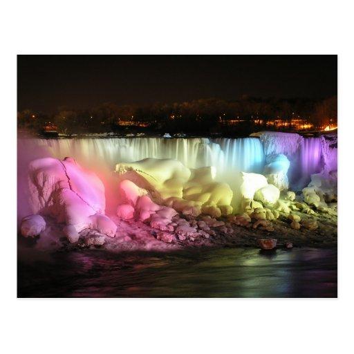 Night Lights: American Falls Post Cards