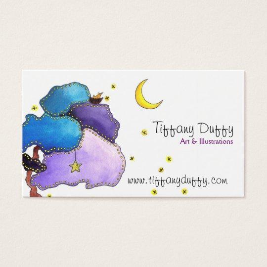 Night Lights Business Card