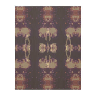 Night Lights Pattern C Wood Canvases