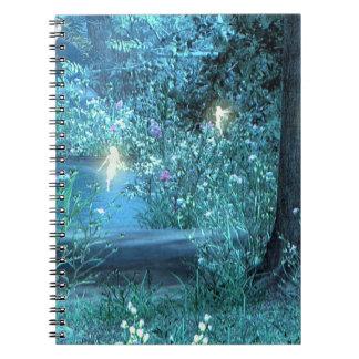 Night magic fairies notebook