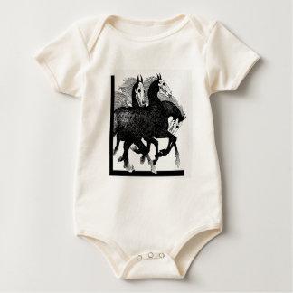 Night Mares Baby Bodysuit