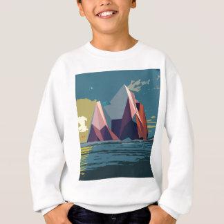 Night Mountains No. 1.jpg Sweatshirt