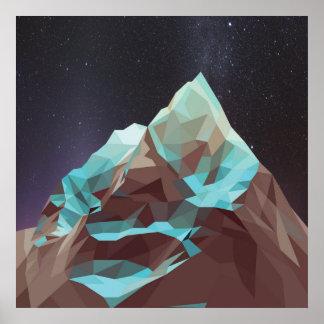 Night Mountains No. 2.jpg Poster