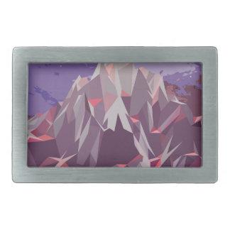 Night Mountains No. 3.jpg Belt Buckles