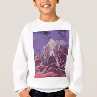 Night Mountains No. 3.jpg Sweatshirt