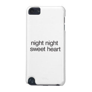 night night sweet heart iPod touch (5th generation) case