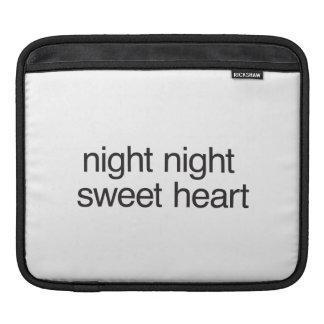 night night sweet heart sleeves for iPads