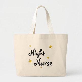 Night Nurse Large Tote Bag