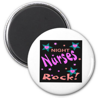 Night Nurses Rock 6 Cm Round Magnet