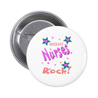 Night Nurses Rock Pin