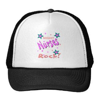Night Nurses Rock Hats