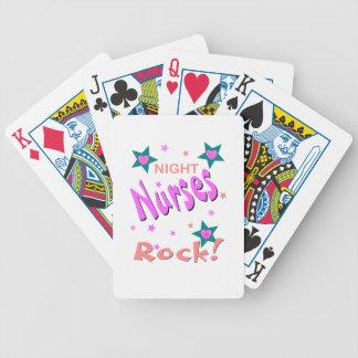 Night Nurses Rock Playing Cards