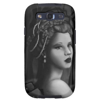 Night of Mist and Dreams BW Galaxy SIII Cases