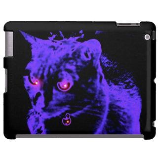Night of the Cat-Original Art by SQ Streater iPad Case