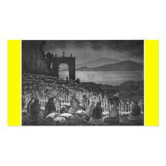 Night of the Dead. Janitzio, Mexico. Circa 1958 Business Card Templates
