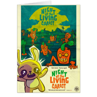 Night of the Living Carrot! Cards