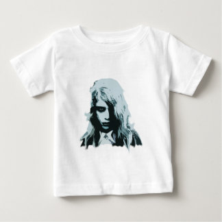 Night of the living zombie girl baby T-Shirt
