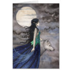 Night of the Wolf Greeting Card