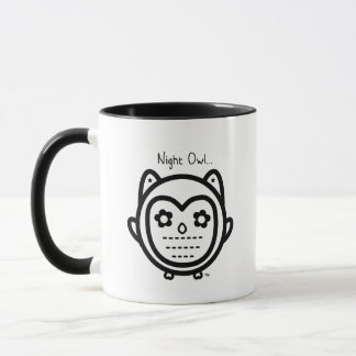 Night Owl 11.oz White Mug