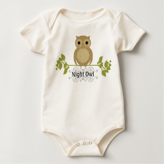 Night Owl Baby Baby Bodysuit