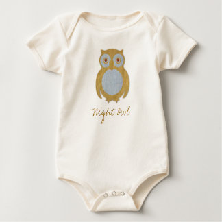 Night Owl Baby Bodysuit