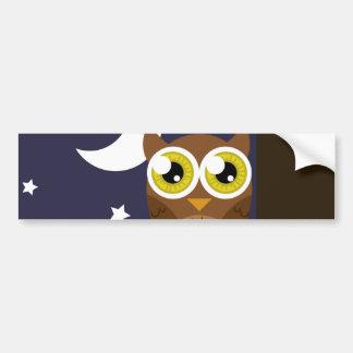 """Night Owl"" Bumper Stickers"