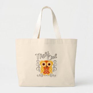 Night Owl Canvas Bag