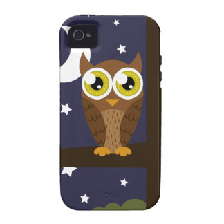 Night Owl iPhone 4 Cover