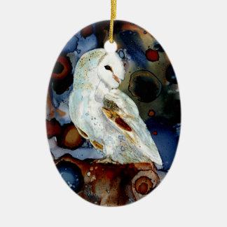 Night Owl Christmas Ornament