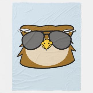 Night Owl Fleece Blanket