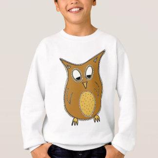 Night Owl Illustration Sweatshirt