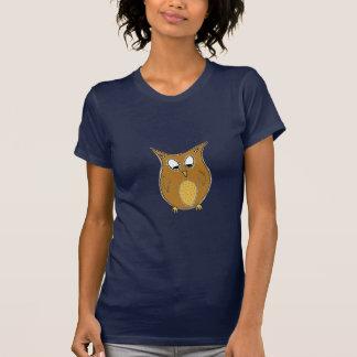 Night Owl Illustration T-Shirt
