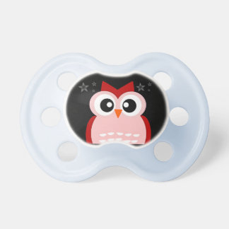 Night Owl Infant Baby Pacifier. Dummy
