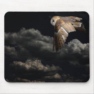 night owl mouse mat