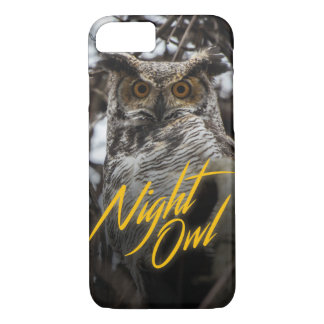 Night Owl - Retro Style Phone Case