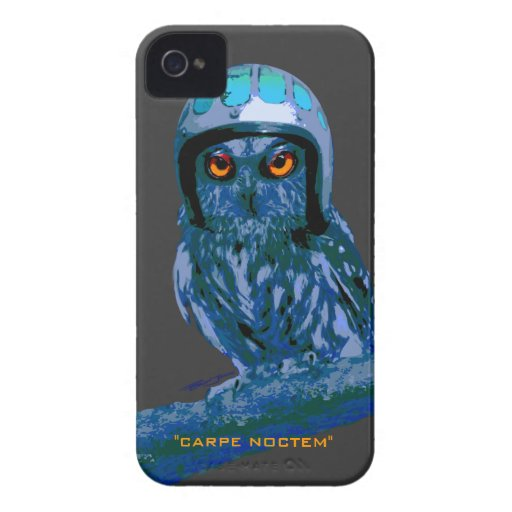 Night Owl - Seize The Night! iPhone 4 Case