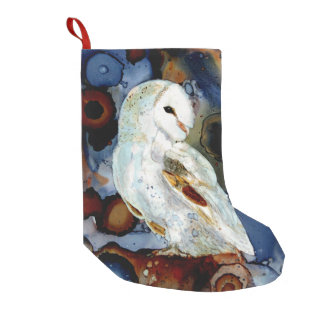 Night Owl Small Christmas Stocking
