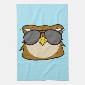 Night Owl Tea Towel