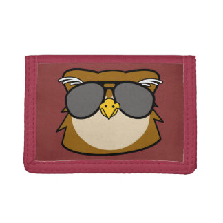 Night owl trifold wallet