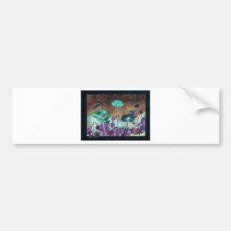 night poppies bumper sticker