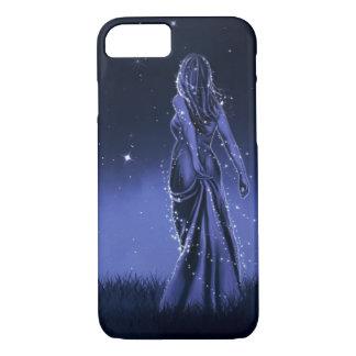 Night Princess Fantasy Illustration iPhone 7 Case