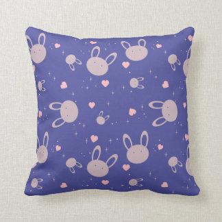 Night Rabbit Baby Pillow