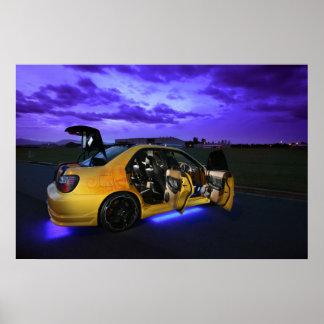 Night Racer Poster
